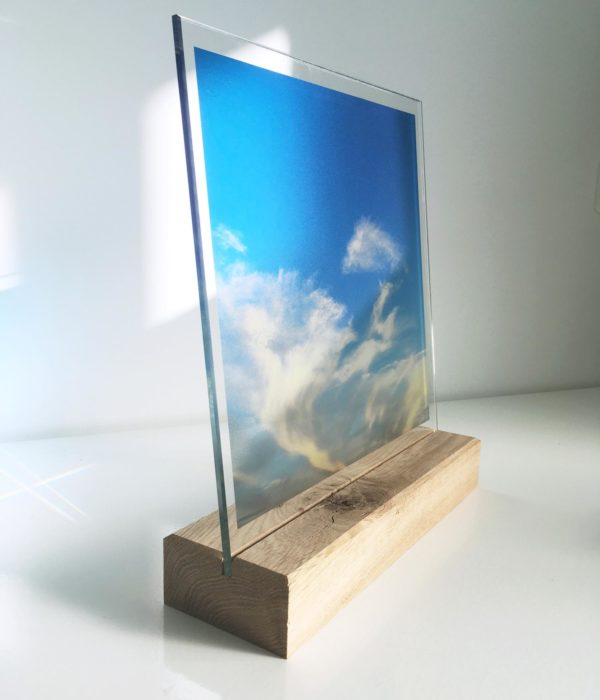Glasfoto Natuur